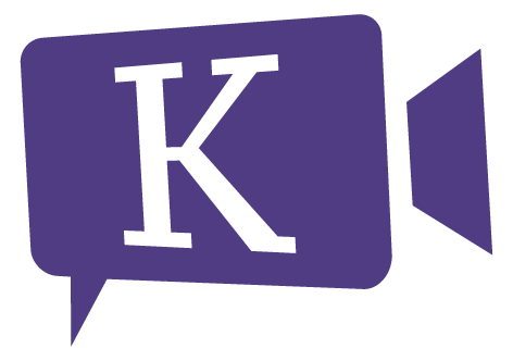 Kidterview – purple with app icon